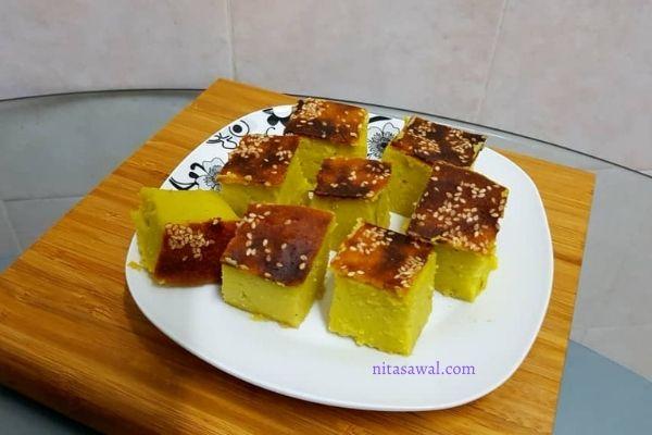 resepi bingka durian